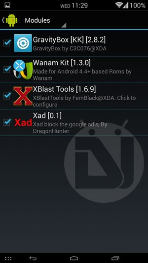 Xad Module for Xposed