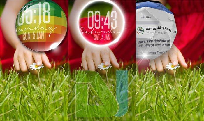 LG G2 lockscreen preview