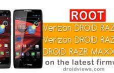 Verizon Droid RAZR M