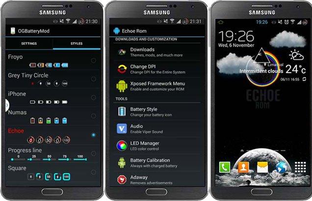 Best Custom ROMs for Galaxy Note 3 SM-N9005