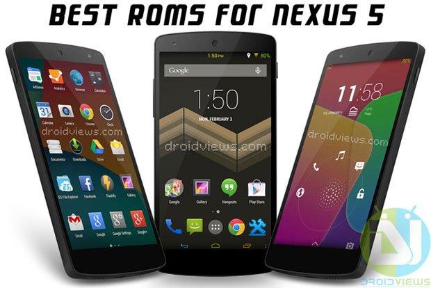 Best Custom ROMs for Nexus 5 (hammerhead)