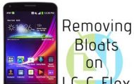 Remove Bloats on LG G Flex