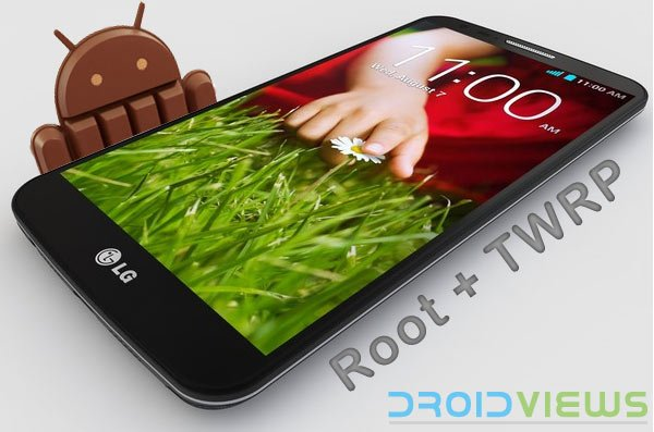 Get Android 4 4 2 KitKat ROM on LG G2 D802 and Install TWRP
