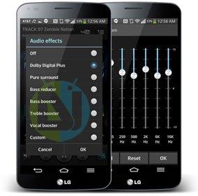 Dolby Equalizer on LG G Flex