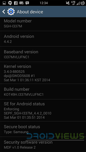 Install Android 442 Kitkat On Canadian Galaxy S4 Sgh I337m Root