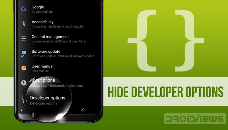 Disable or Turn Off Developer Options on Android Devices - Tutorial