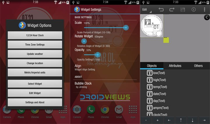 XWidget-for-android-settings