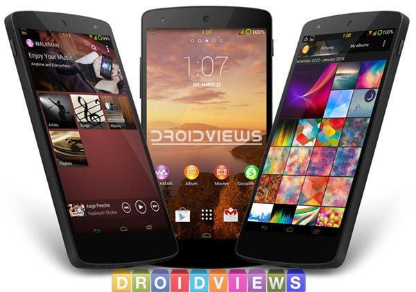 Install Xperia Z2 Walkman, Album, Movies, Launcher and Other
