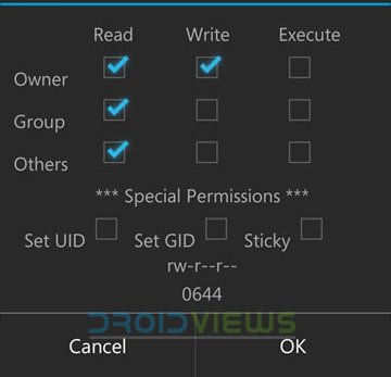 set-permissions-in-root-browser