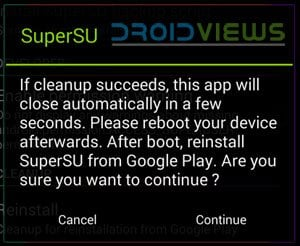 supersu reinstall