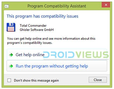 windows program compatibility