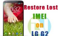 Lost IMEI on LG G2