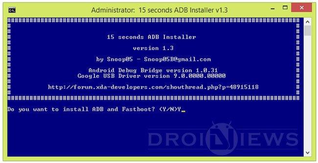 15 Seconds ADB Installer