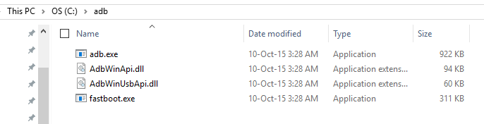 adb fastboot files