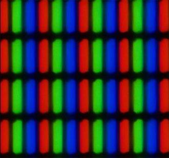 LCD-subpixel-matrix