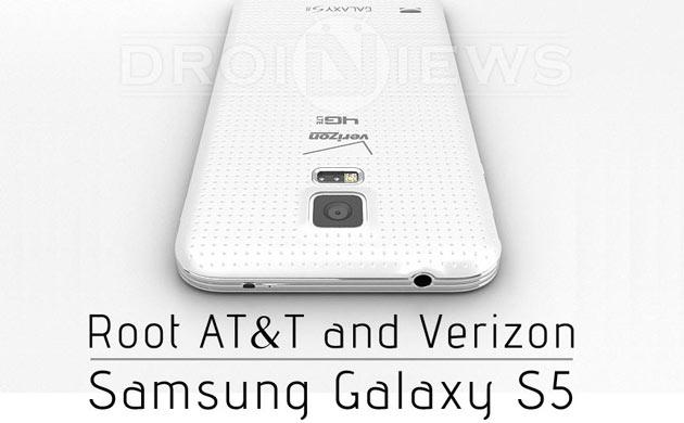 Root AT&T and Verizon Galaxy S5