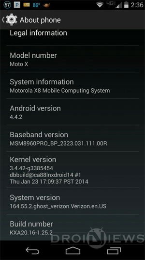 moto x android 4.4.2