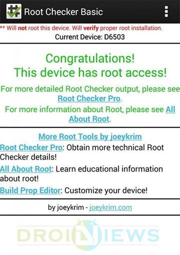xperia-z2-root-checker
