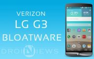 Bloatware on Verizon LG G3