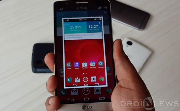 Take Screenshot on LG G3