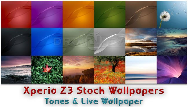 Download Sony Xperia Z3 Stock Wallpapers Tones Live Wallpaper