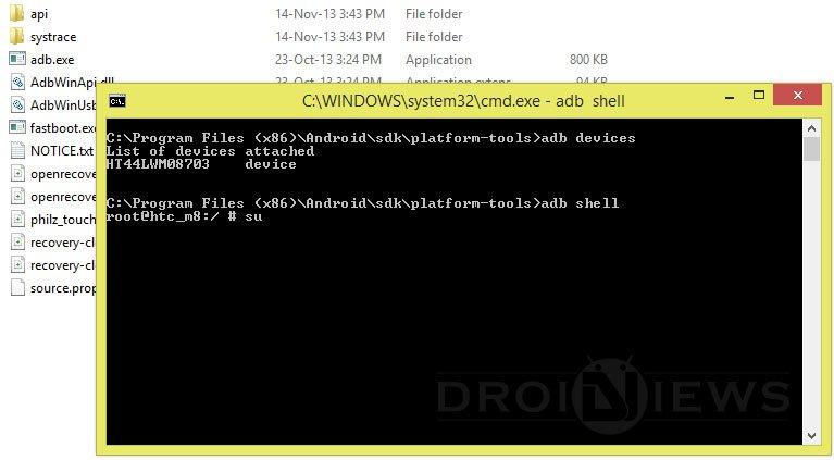 adb shell command