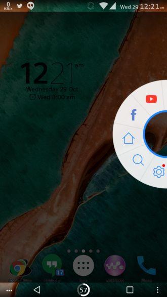 Baidu widget