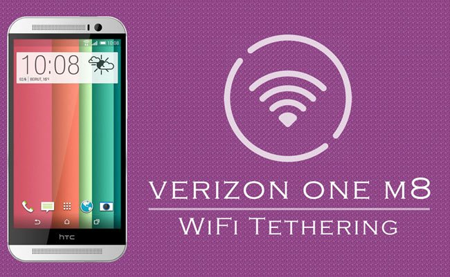 How to Enable WiFi Tethering on Verizon HTC One M8 on Android 4 4 3
