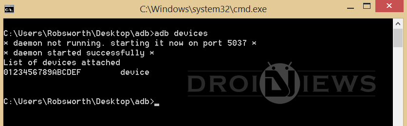install apk using adb commands