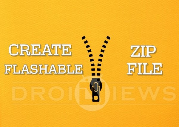 How to Create Falashable Zips for CWM/TWRP Recovery