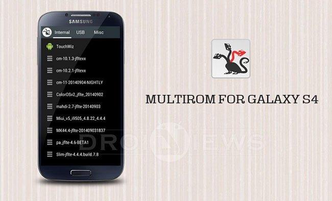 Enjoy MultiROM on Your Samsung Galaxy S4 GT-I9505