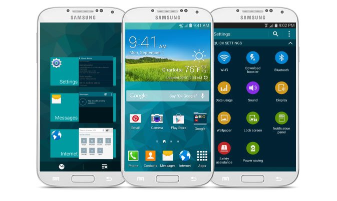 Get Galaxy S5 Features on Galaxy S4 GT-I9505 with GoldFinger ROM