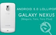 Galaxy Nexus Gets Lollipop