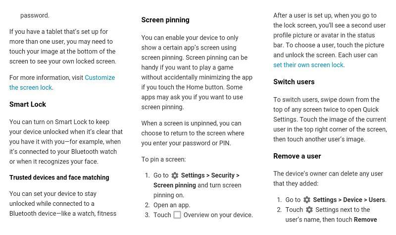 google lollipop user guide