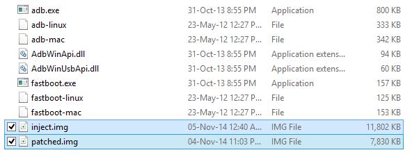 nexus 9 root files