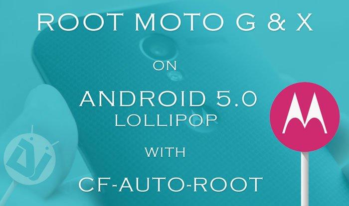 Root Moto G and Moto X