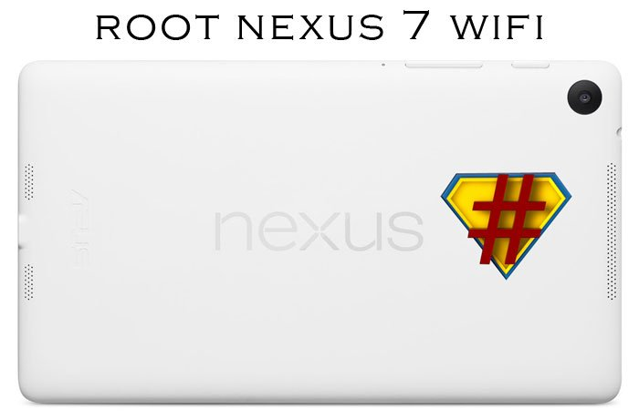 Root Your Nexus 7 2013 WiFi Using One-Click ChainFire