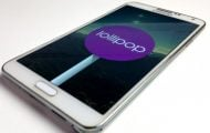 Lollipop on Galaxy Note 3
