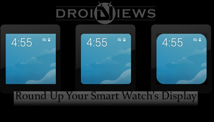 Rounded corners to Android Wear
