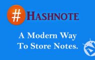 Hashnote app review