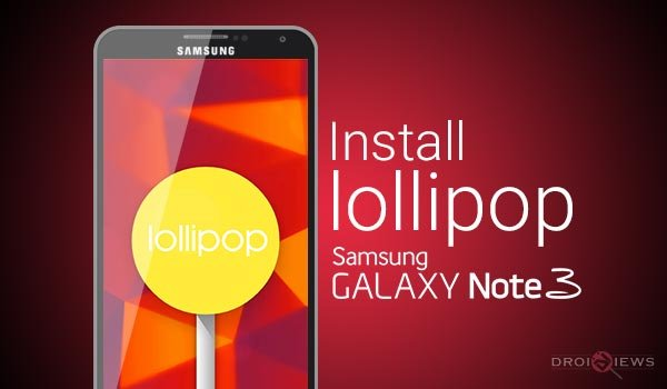 Install Official Android 5 0 Lollipop Firmware on Galaxy