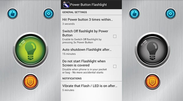 Control Your Phone's Flashlight with the Power Button without Root!