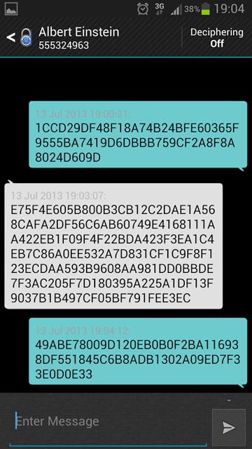 SMS Encryption