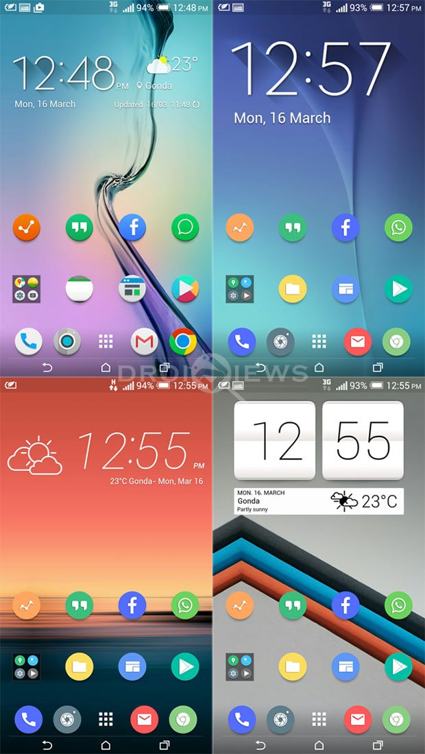 Install Htc One M9 And Galaxy S6 Weather Widgets On Android Devices