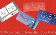 Galaxy S6 Weather Widgets