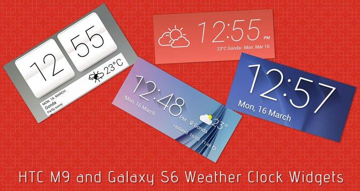 Download htc flip clock widget android.