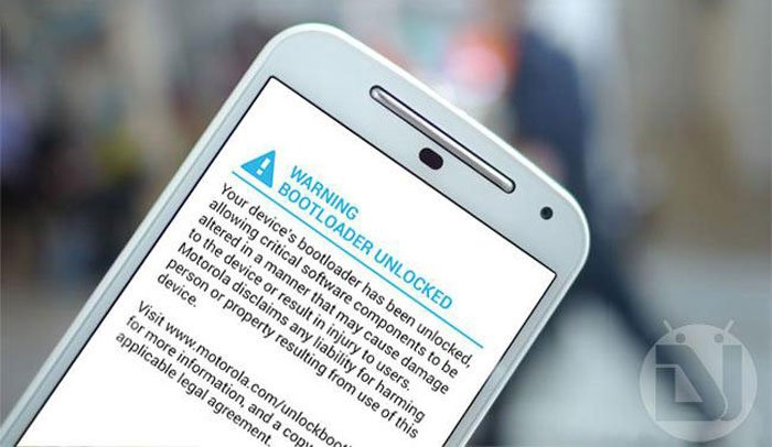 How to Remove Bootloader Unlocked Warning on Moto E 2015