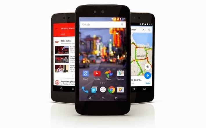 Lollipop OTA on Android One