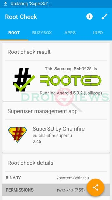 Root Verizon Galaxy S6 and S6 Edge (SM-G920V/G925V) without