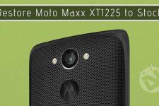 Remove Bootloader Unlocked Warning on Moto Maxx XT1225